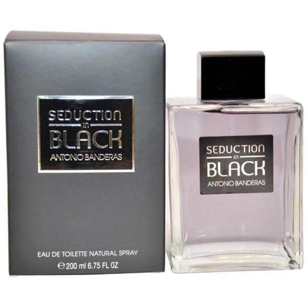 Antonio Banderas Seduction In Black Men's 6.75-ounce Eau de Toilette Spray