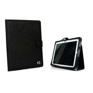 Stylish Apple iPad 4 Black Stand Case