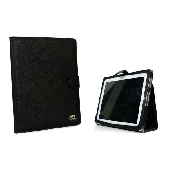 Stylish Apple iPad 4 Black Stand Case