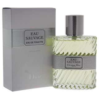 Christian Dior Eau Sauvage Men's 1.7-ounce Eau de Toilette Spray