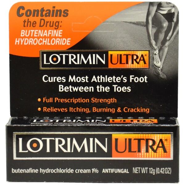 Lotrimin Ultra Anti-fungal Athlete's Foot Cream