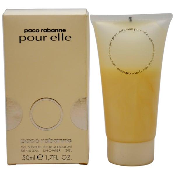 Paco Rabanne Pour Elle Women's 1.7-ounce Sensual Shower Gel