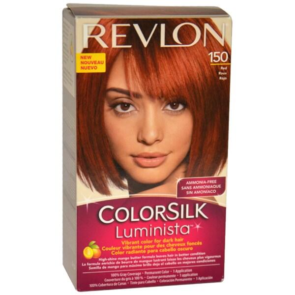 Revlon Colorsilk Luminista #150 Red Hair Color