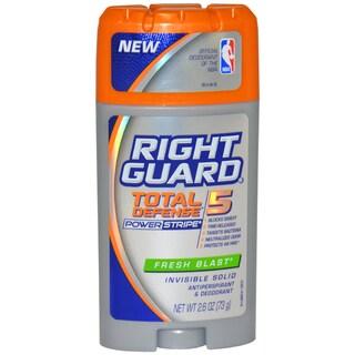 Right Guard Total Defense Power Stripe Fresh Blast Antiperspirant Deodorant