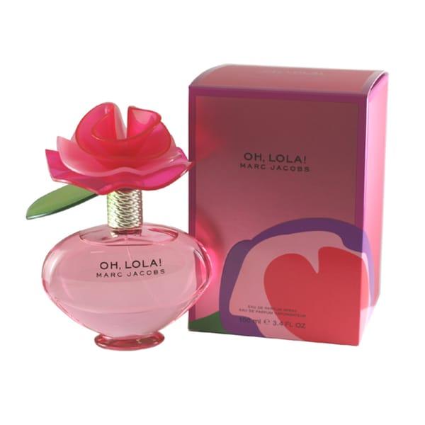 9ee7c2e89cd51 Shop Marc Jacobs Oh Lola! Women s 3.4-ounce Eau de Parfum Spray ...