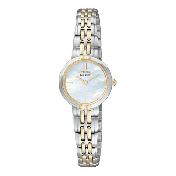 Citizen Women's Two-tone Eco-Drive Silhouette Watch