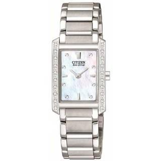 Citizen Women's Stainless Steel Eco-Drive Palidoro Diamond Watch