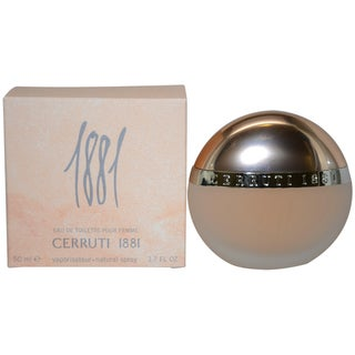 Nino Cerruti 1881 Women's 1.7-ounce Eau de Toilette Spray