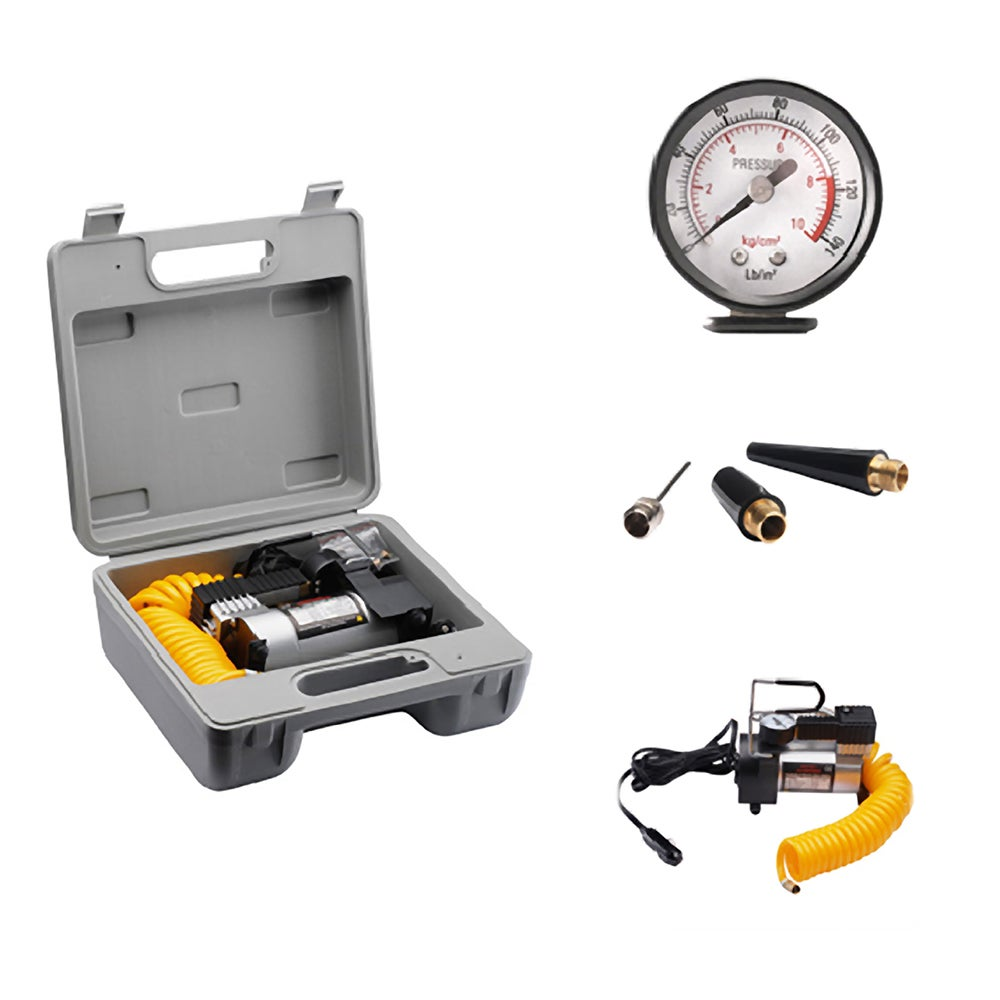 Rad Cycle Products 12-volt Electric Tire Air Pump with Ga...