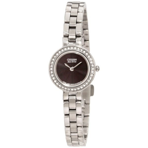 Citizen Women's Eco-Drive Silhouette Stainless Steel Crystal Watch