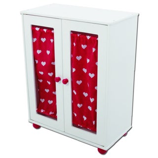 shop the new york doll collection doll armoire closet. Black Bedroom Furniture Sets. Home Design Ideas
