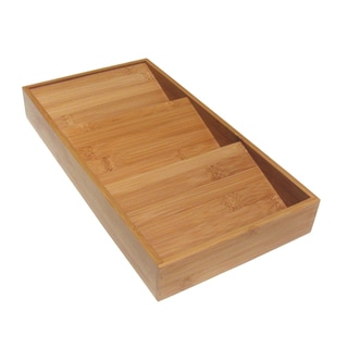 Seville Bamboo Spice Rack Drawer Tray