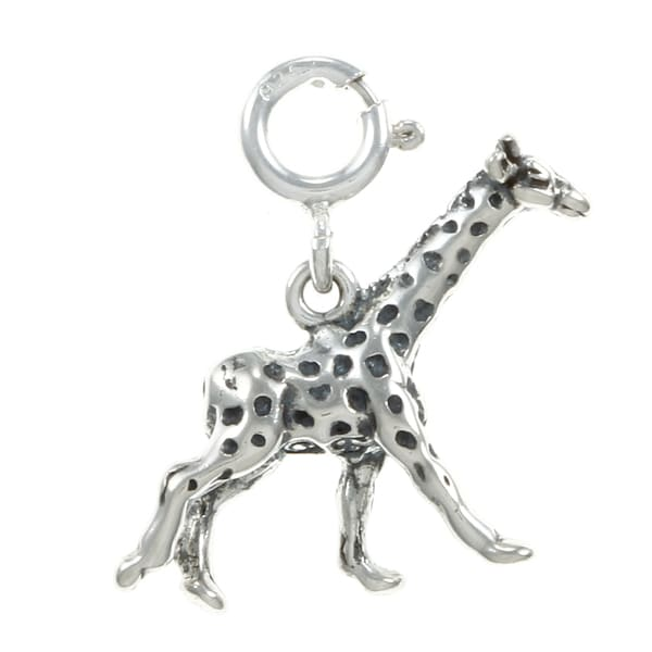 Giraffe Charm Bracelet: Shop Sterling Silver Giraffe Charm