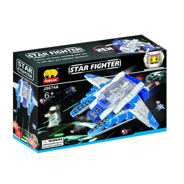 Fun Blocks Star Fighter Brick Set A