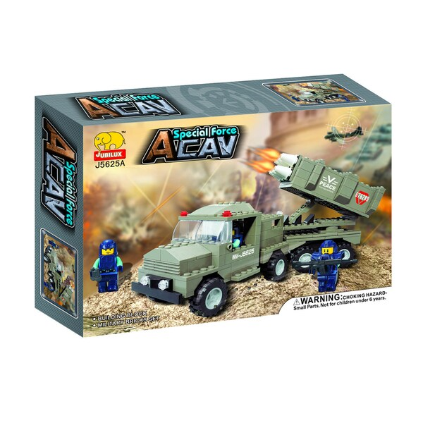 Fun Blocks 'Peace Maker' Army Series Brick Set C (238 pieces)