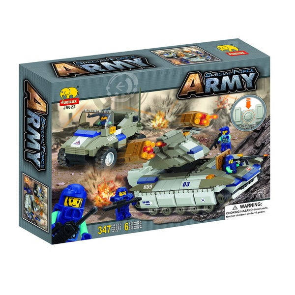 Fun Blocks 'Army Troopers' Brick Set A (347 pieces)