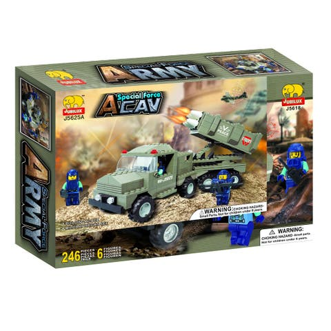 Fun Blocks 'Army Troopers' Brick Set E (246 pieces)