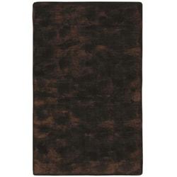 Black/ Brown Acrylic Fur Animal Rug (5'6 x 8'6)