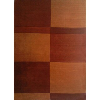Hand-tufted Geometric Brown Wool Rug (8' x 11')|https://ak1.ostkcdn.com/images/products/7495166/7495166/Hand-tufted-Geometric-Brown-Wool-Rug-8-x-11-P14938624.jpeg?_ostk_perf_=percv&impolicy=medium