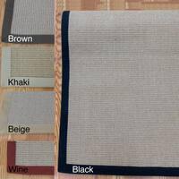 Woven Real Sisal Rug (8' x 10') - 8' x 10'