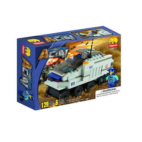 Fun Blocks 'Special Forces' Military Brick Set C (129 pieces)