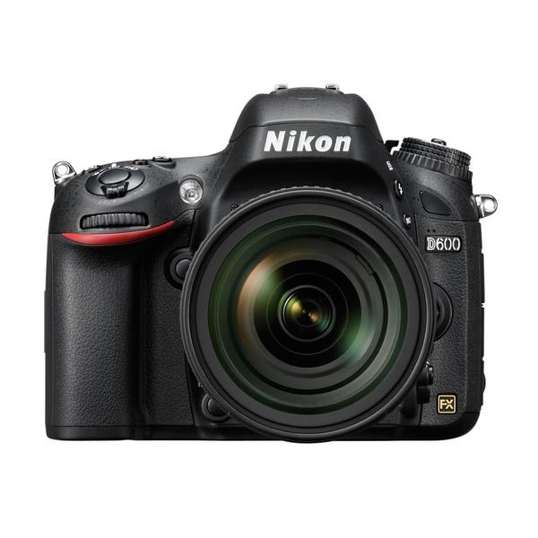 Nikon D600 24.3MP Digital SLR Camera (Body Only)