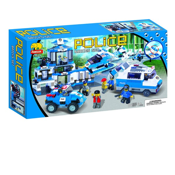 Fun Blocks POLICE Series Set B (814 pieces)