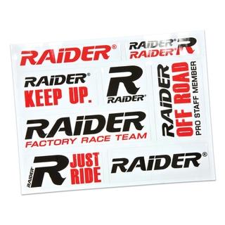 Raider Brand Decal Sheet