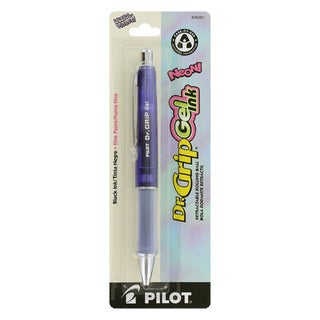 Pilot Dr. Grip Gel Ink Retractable Rolling Ball Pen