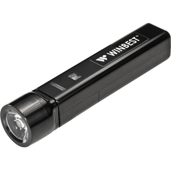 Portable USB Charger with Flashlight