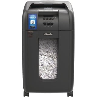 Swingline Stack-and-Shred 300X Auto Feed Shredder, Super