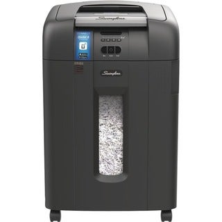 Swingline Stack-and-Shred 600X Auto Feed Shredder, Super