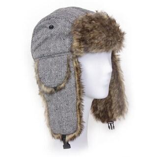 Solegear Women's Herringbone Winter Trapper Hat