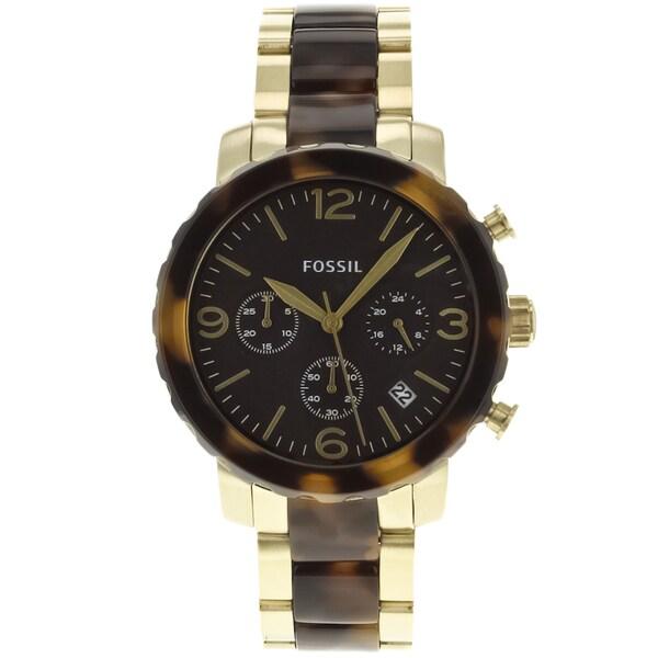Fossil Women's Natalie JR1382 Two-Tone Stainless-Steel Quartz Watch