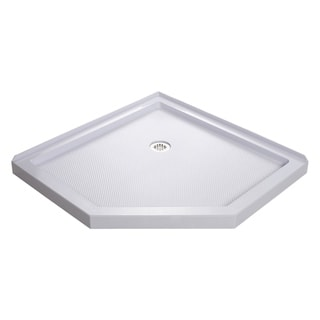 DreamLine SlimLine 38 in. by 38 in. Neo-Angle Shower Tray