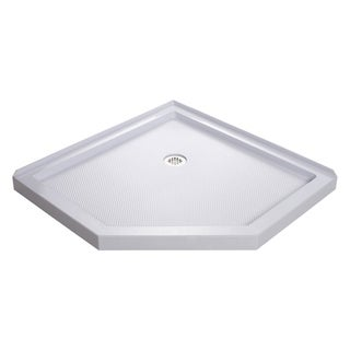 "DreamLine SlimLine 36 in. D x 36 in. W x 2 3/4 in. H Neo-Angle Shower Base - 36"" x 36"""