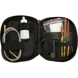Barska Gun Cleaning Kit with Flexible Rod and Pouch