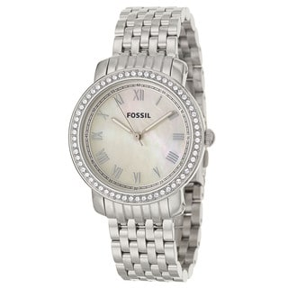 Fossil Women's ES3112 Emma Stainless Steel Watch