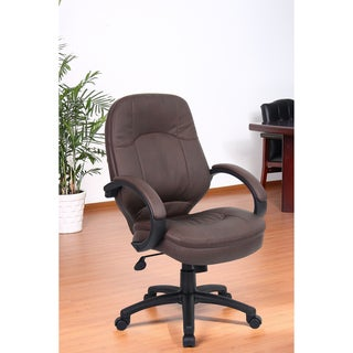Aragon Bomber Brown Executive Chair