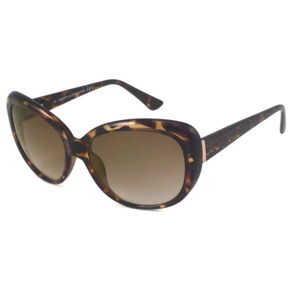 Kenneth Cole Reaction KC2419 Women's Cat-Eye Sunglasses