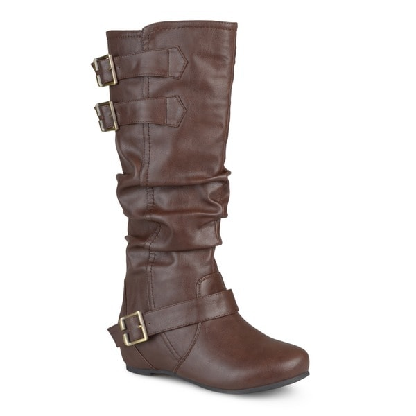 Regular and Wide-calf Slouch Boot