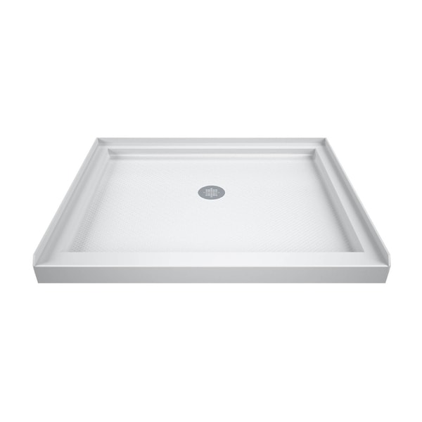 DreamLine SlimLine 32 in. by 32 in. Single Threshold Shower Base