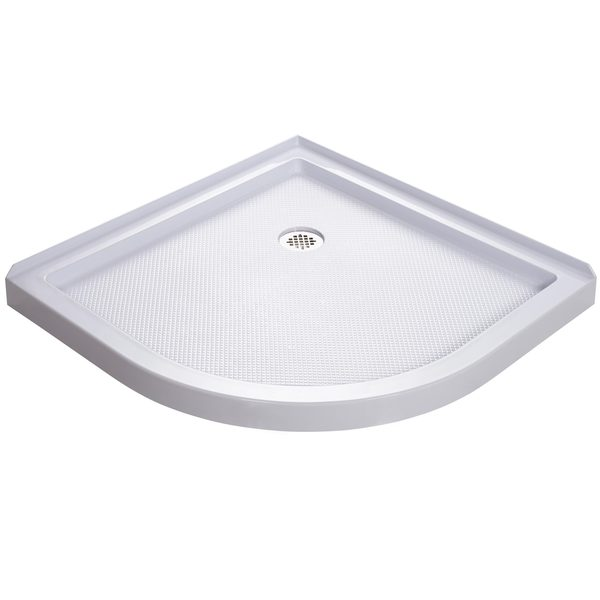 DreamLine SlimLine 33 x 33-inch Quarter Round Shower Base