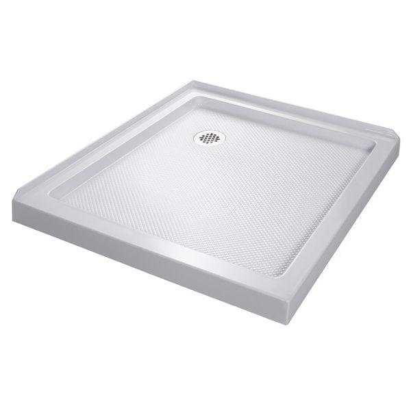 DreamLine SlimLine 32 x 32-inch Double Threshold Shower Base