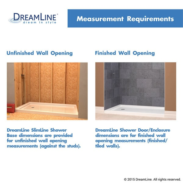 Double Threshold Shower Base   Free Shipping Today   Overstock.com    14940520