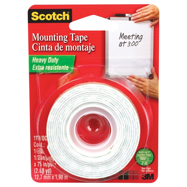 Scotch Foam Mounting Double-sided Tape