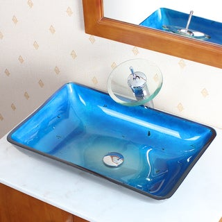 Bathroom Sinks Brands glass cae bathroom sinks - shop the best brands - overstock
