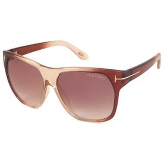 Tom Ford Men's TF0188 Federico Rectangular Sunglasses