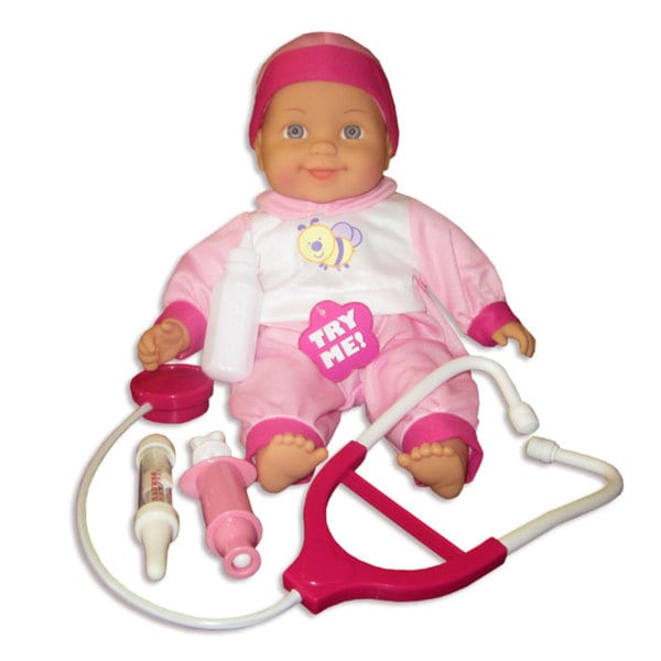 Baby Tones Talking Doctor Baby Doll Set