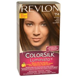 Revlon Colorsilk Luminista #114 Dark Golden Brown